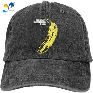 Velvet Underground Warhol Banana Cowboy Cap Baseball Hat Casquette Headgear