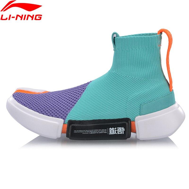 Li-Ning Женская Баскетбольная обувь PFW ESSENCE II с подкладкой li ning, спортивная обувь для фитнеса, кроссовки AGBP032 YXB266