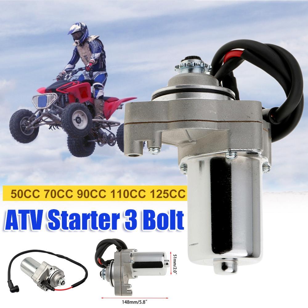 Démarreur électrique pour 50CC 70CC 90CC 110CC 125CC moto Scooter ATV Quad, moteurs de démarreur électrique universel pour TAOTAO SUNL