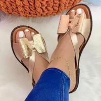 summer women slippers cute butterfly knot casual sandals lady slides flats slip on women shoes for women 2021