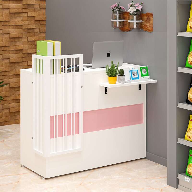 كاشير سوبر ماركت متجر منصة مشروبات صغيرة بسيطة الحديثة متجر لبيع الملابس متجر النمط الشمالي مكتب الاستقبال