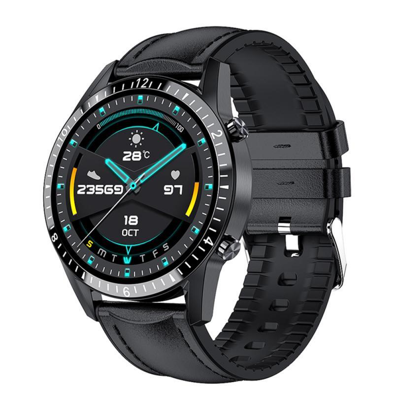 I9 ساعة ذكية دعوة Smartwatch ضغط الدم شاشة مستديرة رصد الرجال النساء الرياضة IP67 مقاوم للماء Smartwatch