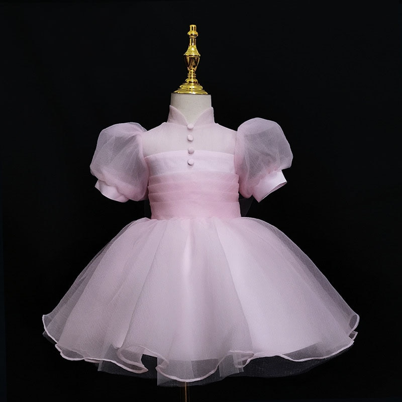 فستان بناتي للأطفال ملابس عيد الميلاد الأولى لصيف 2021 أزياء الأميرات حديثي الولادة ملابس تعميد لحفلات الزفاف وحفلات الأطفال حديثي الولادة