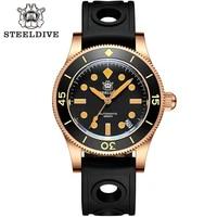 sd1952s japan nh35 automatic watches ceramic bezel bronze case diving wrist watches men