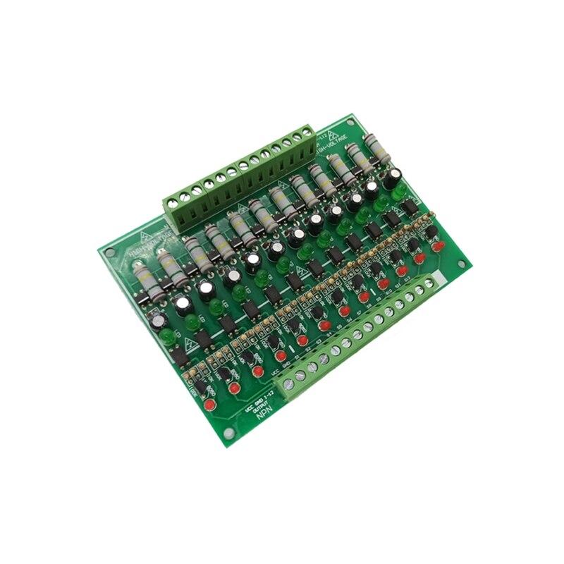 وحدة الكشف 220 فولت/12-Way 220 فولت وحدة عزل Optocoupler/التيار المتناوب الكشف الحالي/بطاقة دليل السكك الحديدية