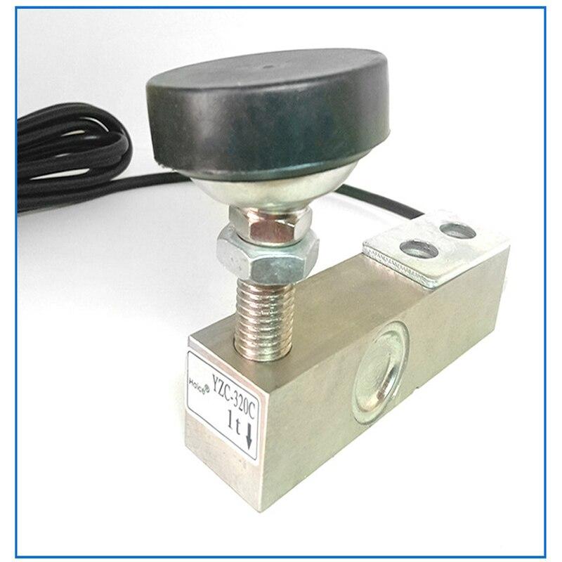 Sensor de escala YZC-320C sensor de pressão sensor de pesagem sensor de célula de carga cantilever pressão extensível sensor escala piso 320c