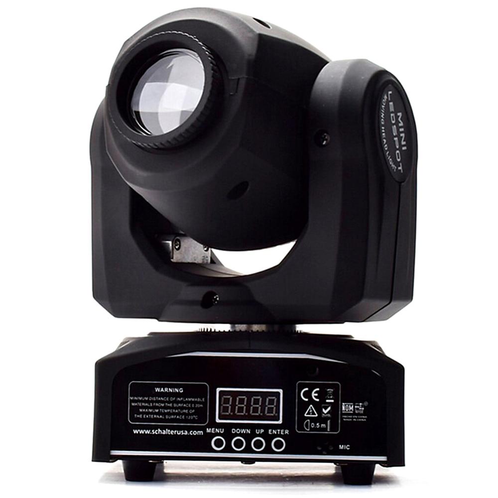 Led 4IN1 30W mini led punto de luz con cabezal móvil Mini luz con cabezal móvil 30W DMX dj 8 gobos efecto luces de la etapa/ktv bar disco