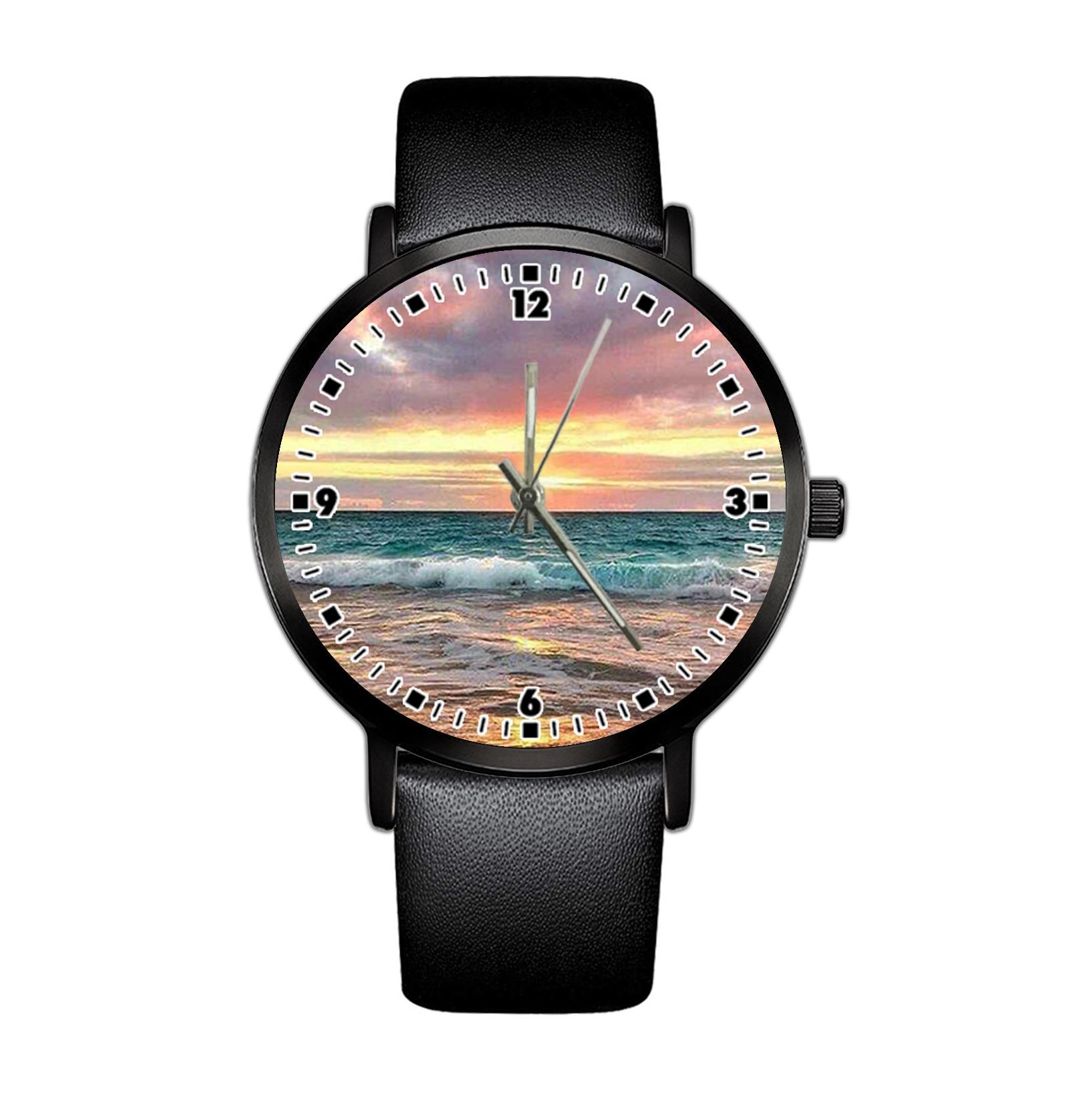 2021 الرجال الحد الأدنى موضة ساعة كوارتز حزام جلد الكوارتز أنيقة رقيقة جدا ساعة الأعمال ساعة تصميم بسيط Fa