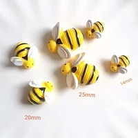 TBoxBo     20 petites api en resine  decoration 3D  aimant de refrigerateur  decoration de maison  1 piece
