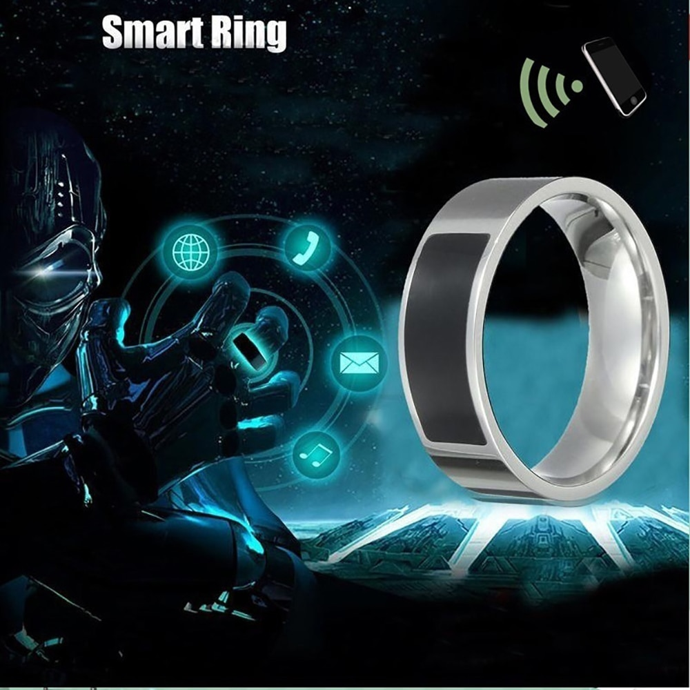 NFC Multifunctional Waterproof Smart Ring Smart Wearable Fashion Finger Digital Ring Smart Accessories Universal