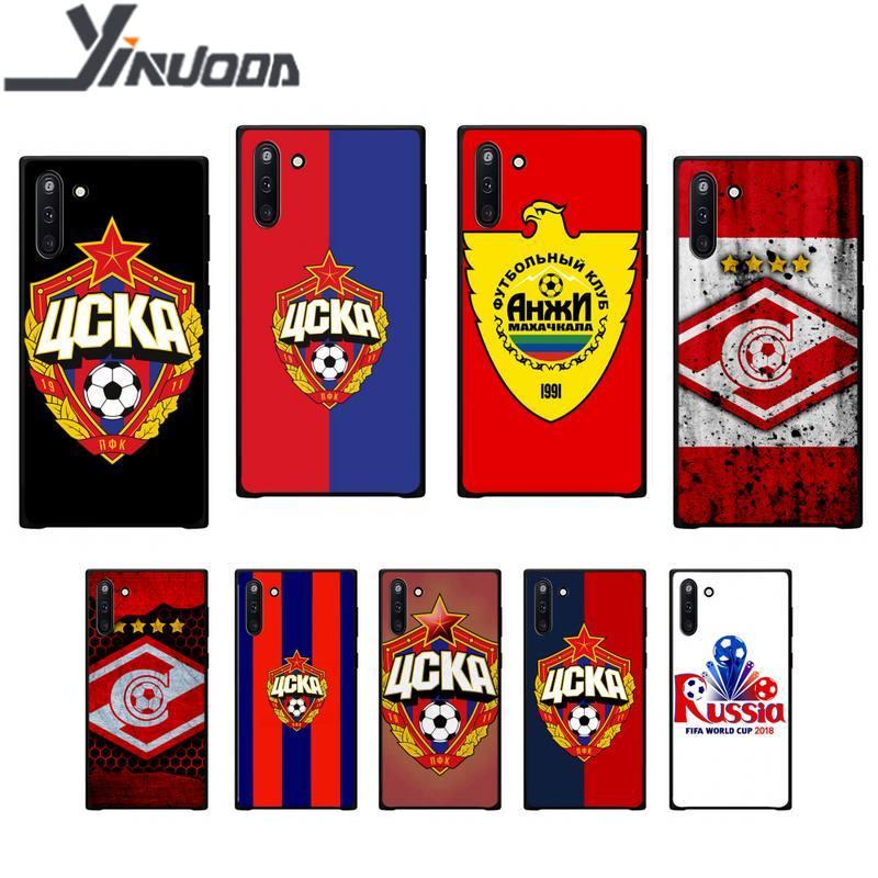 Yinuoda russo moscou futebol macio caso do telefone capa para samsung galaxy j2 j2 j3 j4 plus j5 prime j7 2016 j6 nota 5 8 9 10