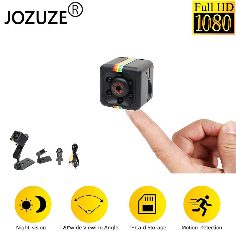 Sq11 Mini Camera secret Motion Detection DVR Micro Camera Sport DV HD 1080P Night Vision Camcorder Video Ultra Small Cam SQ11