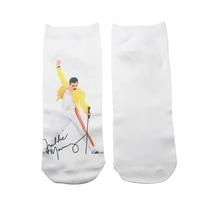 1 pair singer casual socks invisible socks short low cut no show socks cotton funny happy boat socks unisex
