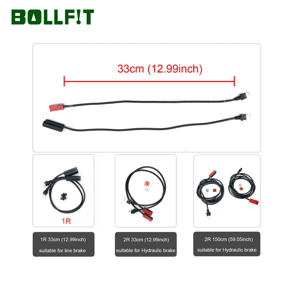 Bollfit Cut Off Power Brake Sensor for TSDZ2  Mid Motor VLCD5 Conversion Parts Accessories