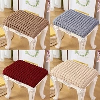 dressing table stool cover household items stain proof shoe changing stool cover modern square pier cover round pier cover