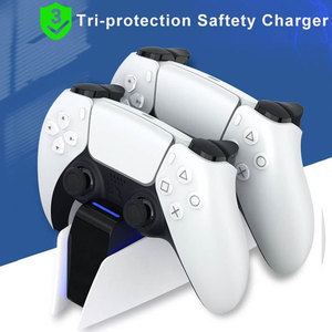 Dual Fast Charger For PS5 Wireless Controller Type-C Charging Cradle Dock Station With Charging Indicator For Sony PS5 Joystick