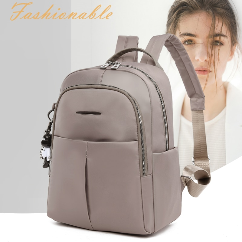 Women Backpack for Girls Waterproof Oxford Bagpack Preppy Style Anti-theft Back Bag Casual Lady Large Capacity Backpacks Mochila