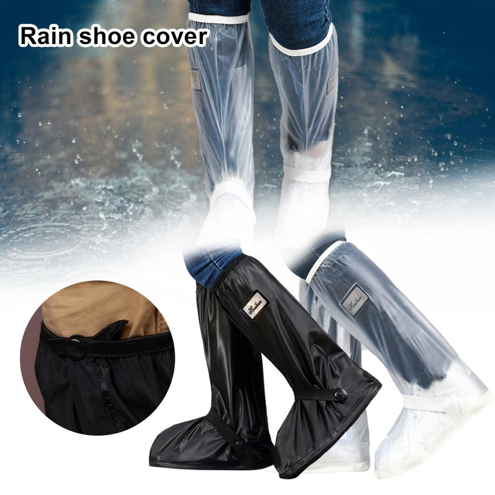 High Top Waterproof Shoes Covers For Shoes Motorcycle Cycling Bike Rain Boot Rain Cover for Shoes In