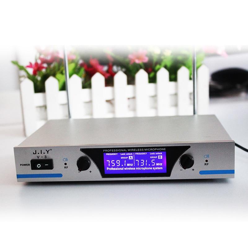 Handheld Wireless Karaoke Microphone Karaoke player Home Karaoke Echo Mixer System Digital Sound Audio Mixer Singing Machine V3+ enlarge