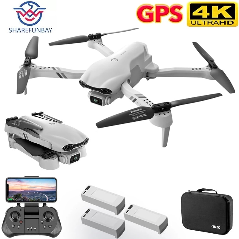 SHAREFUNBAY New F10 Drone 4k Profesional GPS Drones With Camera Hd 4k Cameras Rc Helicopter 5G WiFi Fpv Drones Quadcopter Toys