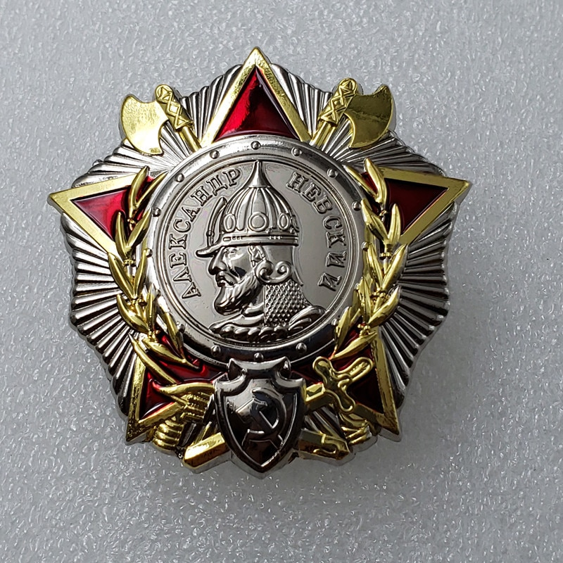Ww2 ussr, pedido ruso soviético de medalla Ushakov, insignia, envío gratis