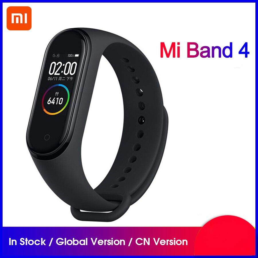 Original Xiaomi Mi Band 4 NFC Smartband Monitor de ritmo cardíaco sueño deporte Miband 4 impermeable Bluetooth pantalla táctil banda inteligente