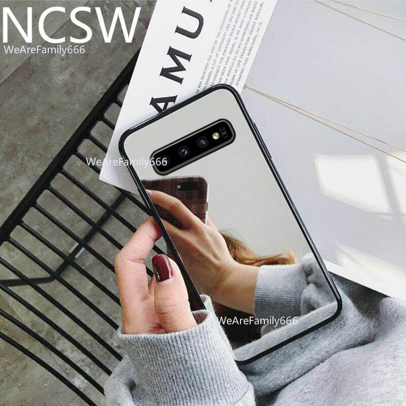 La cubierta de acrílico espejo TPU Shell Chapado en caso para Samsung M30 Note10 Note9 S9plus S10 A30S A40S A50S S8 S7edge A70 A50 A40 caso