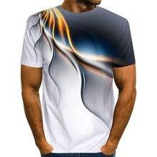 Offre spéciale espace clouely t-shirt hommes à manches courtes Cool coloré nuage mâle T-Shirts marque été hommes drôle casual 3D t-shirt