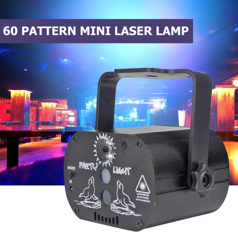 dj discoteca palco lampadas rgb 60 led laser padroes festa decoracao de casa 180