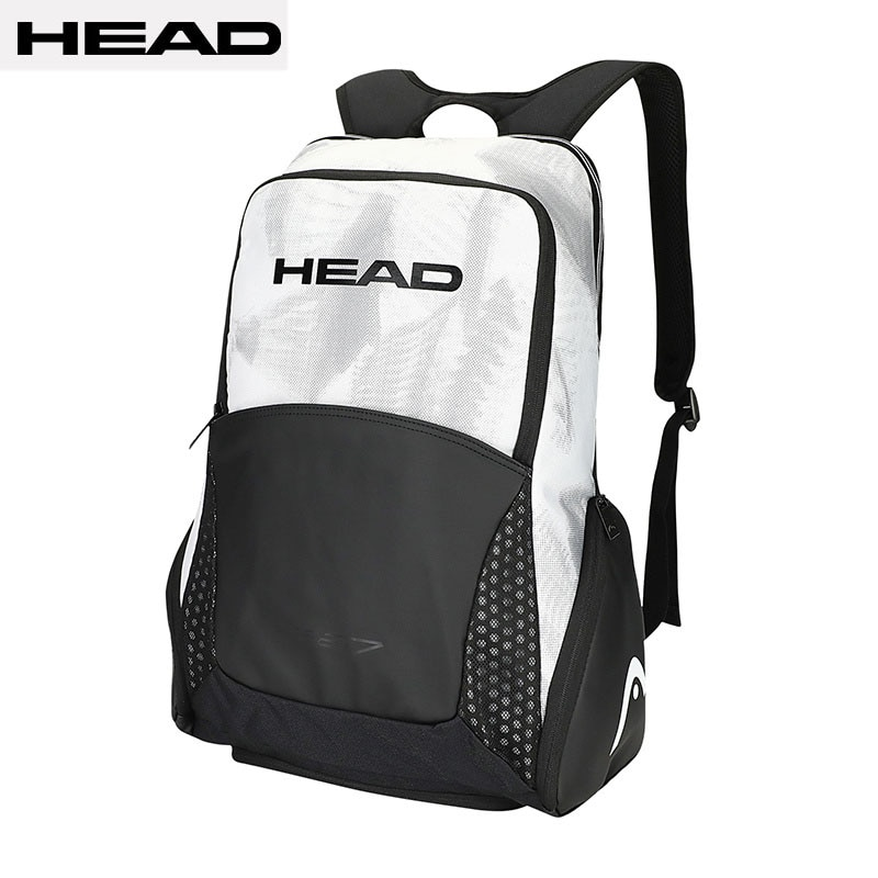 Limit Edition Original HEAD Black White Tennis Bag Shoes Clothing Tenis Padel Accessory Backpack Djokovic Tennis Squash Backpack