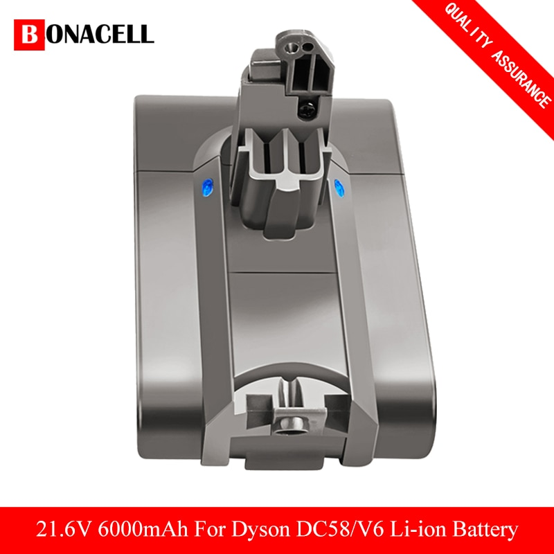 6000mAh 21.6V ليثيوم أيون بطارية ل دايسون V6 DC58 DC59 DC61 DC62 DC74 SV09 SV07 SV03 965874-02 فراغ نظافة البطارية و 4.0Ah Z50