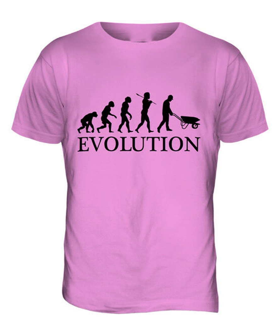 Jardinero paisajista de la evolución para hombre Camiseta Tee el mejor regalo Jardinería Ideas Tops Tee camiseta