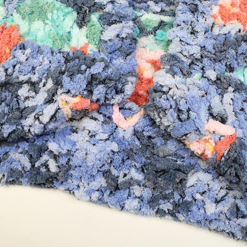 SHUCHAN Thick Knit Sweater Women Open Stitch  Batwing Sleeve  V-Neck  Bohemian  Heavy Yarn  A-straight  Cute Cardigan enlarge