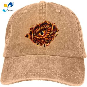 Yellowpods Dragon Eye Casquette Baseball Dicer Vintage Adjustable Casquette Cap Cowboy Hat Shading Function Unisex