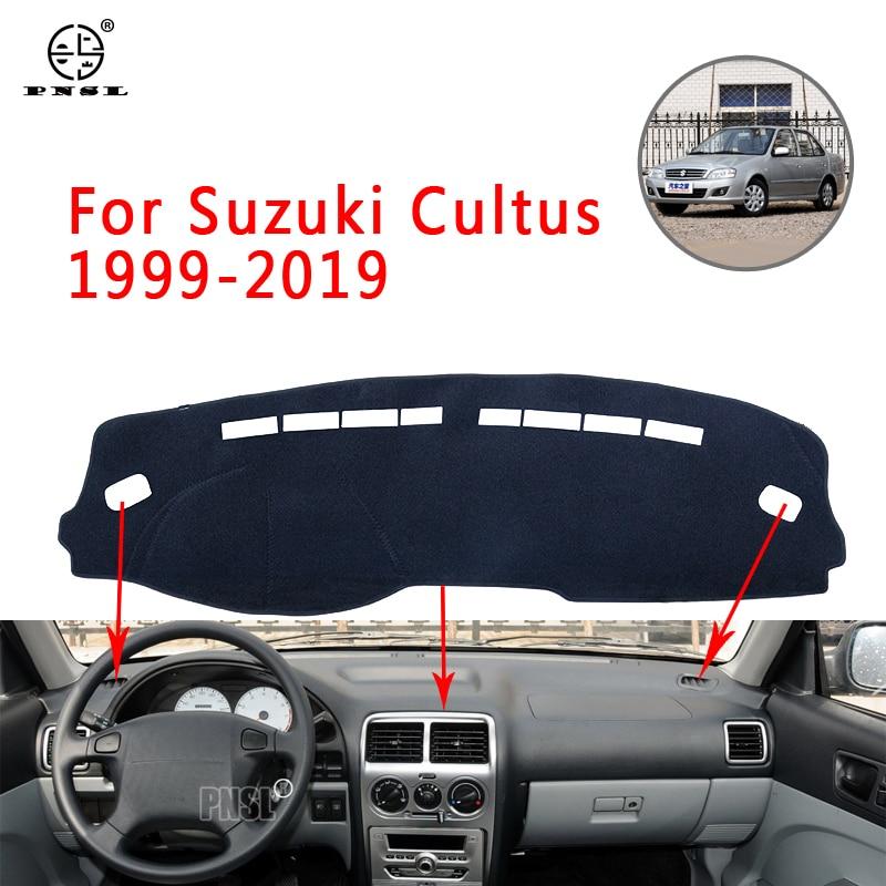 PNSL Car Dashboard Cover Dash Mat Dash Pad Carpet For Suzuki Cultus 1999-2019 Sun protection anti - slip anti - uv