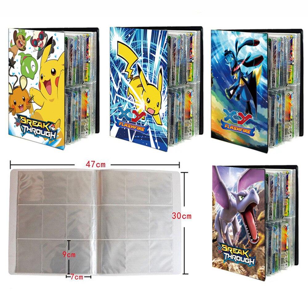 Альбом для карт Pokemon 9 Geda, 432 шт., альбом, мультяшная карточка, папка для карт, игровая карточка, держатель VMAX GX, коллекционный загруженный спис...