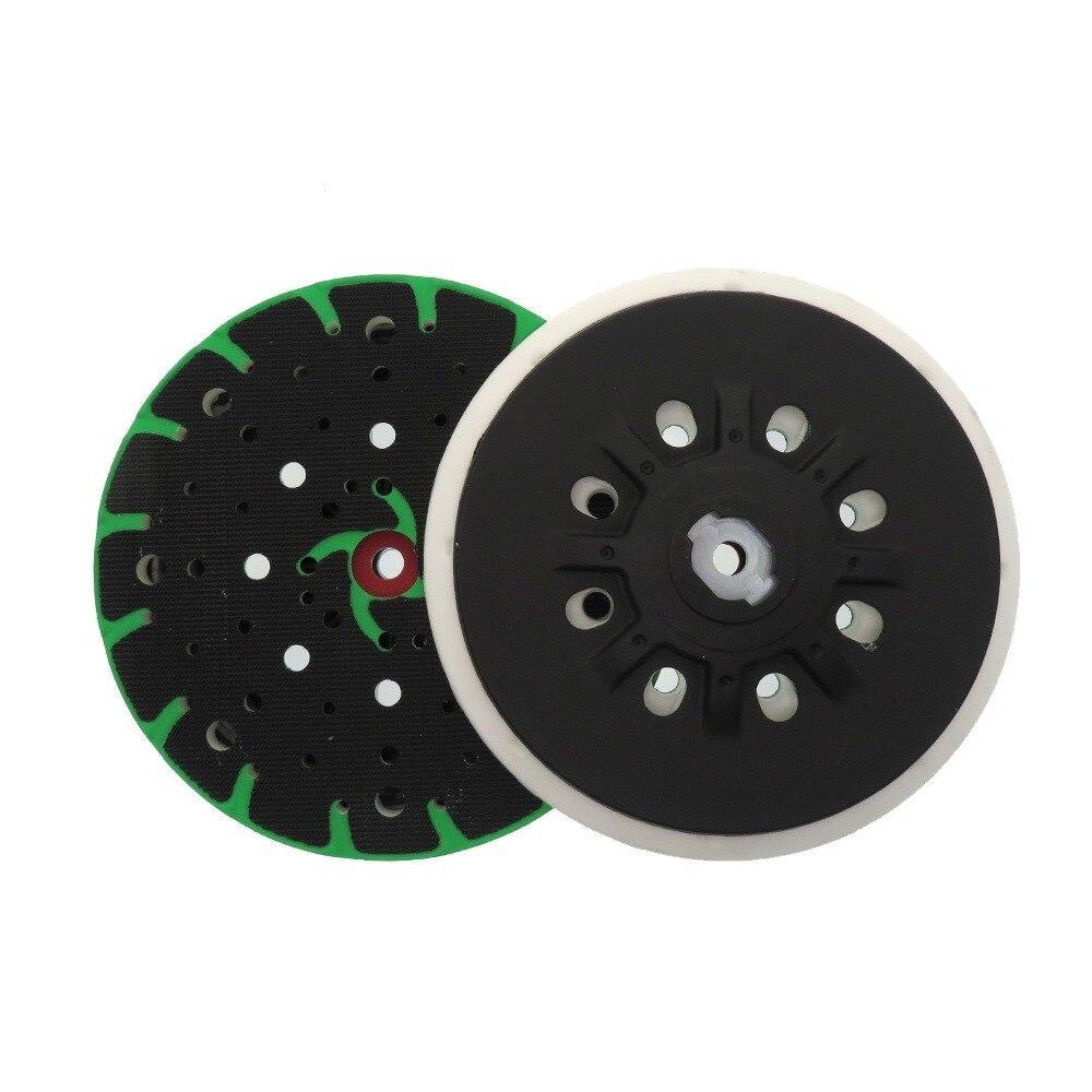 Купить с кэшбэком 1pcs Sanding Pad 6 Inch 150mm 48-Hole Back-up Sanding Pad For Festool ETS 150/3 EQ/ ETS 150/5 EQ Grinder Accessories New