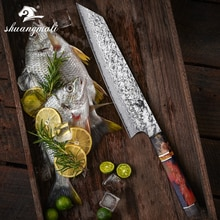 8 pulgadas japonés Gyuto Knive 67 capa Damasco acero cuchilla cuchillo de cocina herramienta de rebanado regalo cuchillos de chef cocina casera herramienta