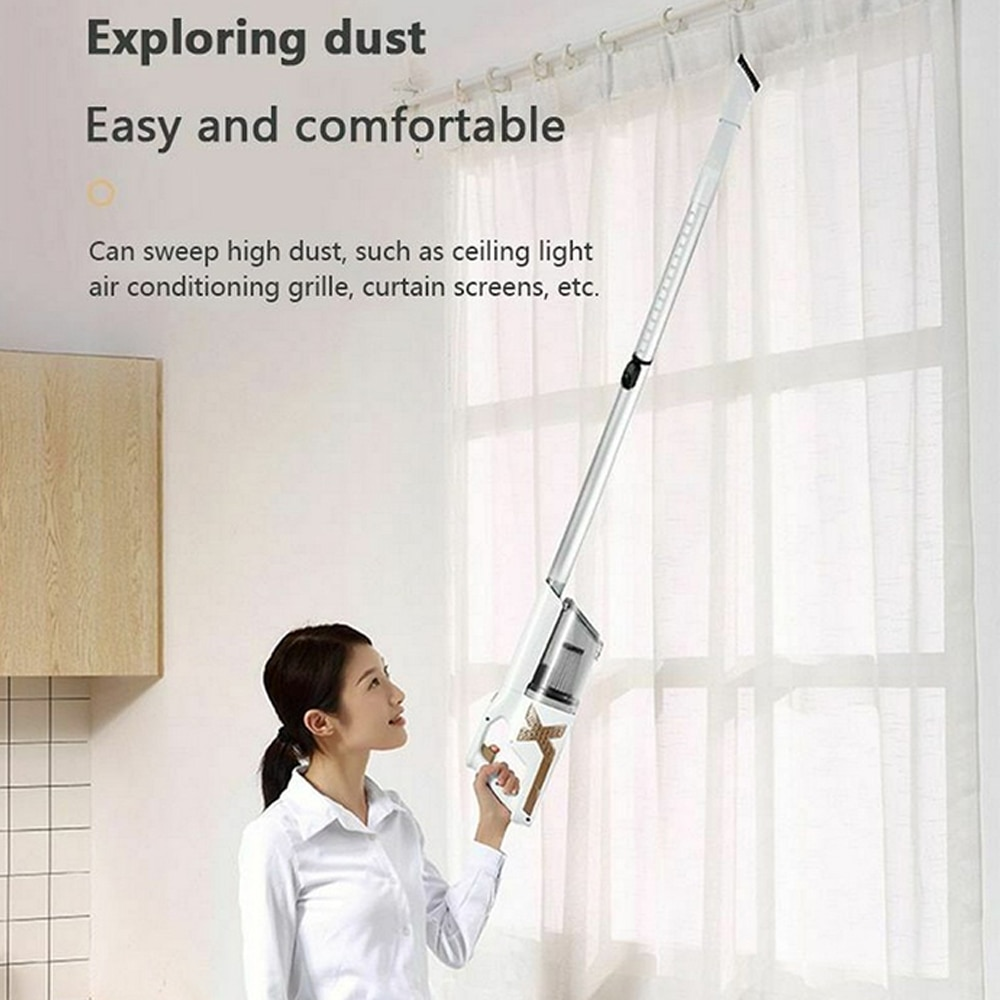 120W  Wireless Vacuum Cleaner Portable 2 In 1 Handheld Silent Vacuum Cleaner 8 KPa Strong Suction Dust Collector Home Aspirator enlarge