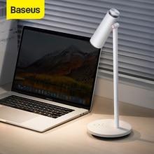 Baseus i-wok réglable en continu lampe de bureau Table liseuse Protection des yeux LED lampe de bureau USB Rechargeable travail étude lampe de Table