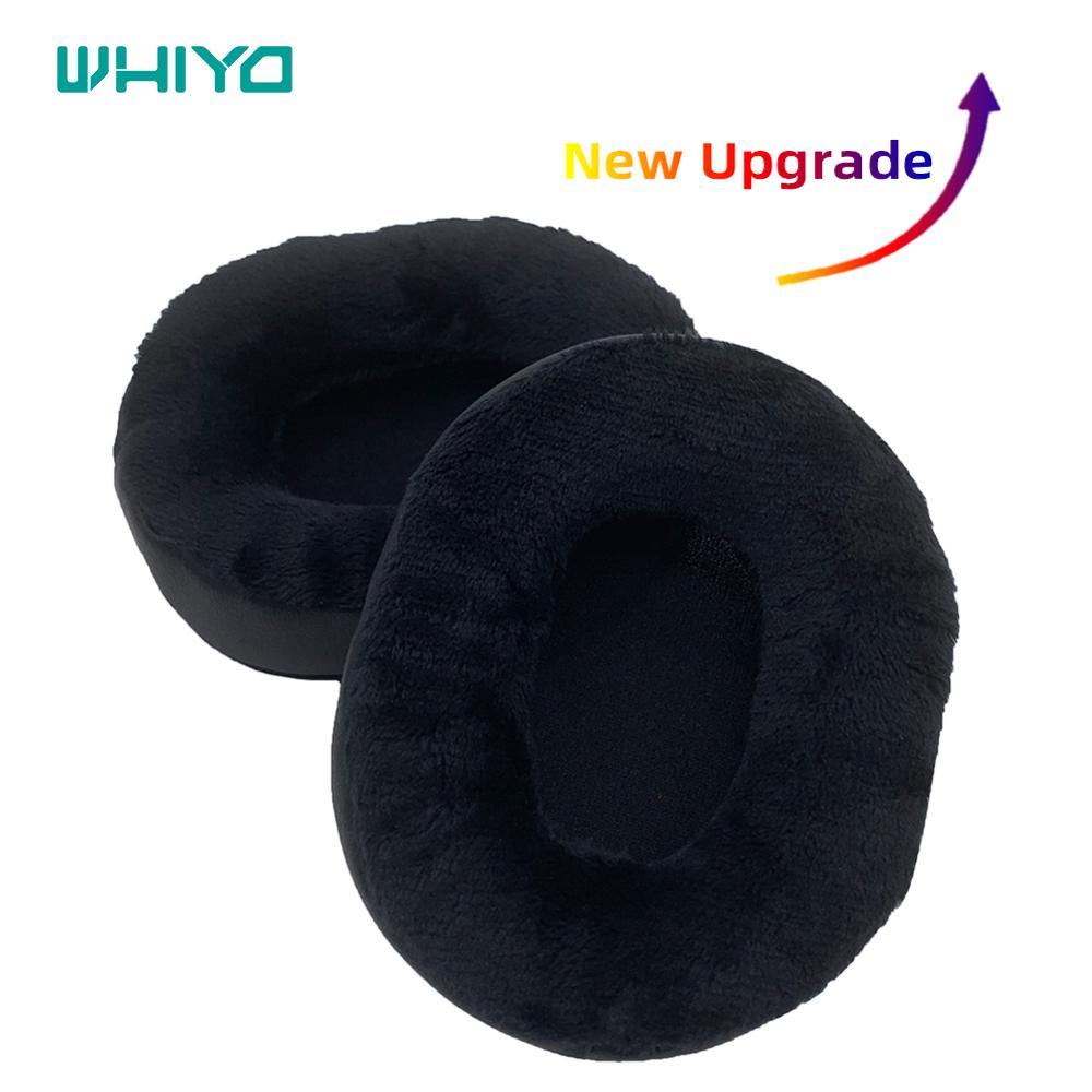 Whiyo substituição almofadas de ouvido para o áudio technica ath msr7 se m20 m30 m40 m40x m50x sx1 fones veludo earpad copos