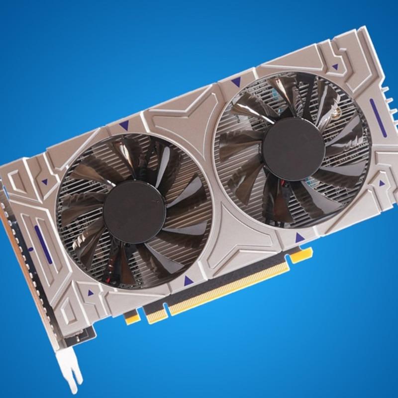 بطاقة رسومات للألعاب لـ NVIDIA GTX 550Ti 4GB GDDR5 128 Bit PCIE 2.0 HDMI-متوافق/VGA/DVI واجهة ث/2 x مروحة تبريد