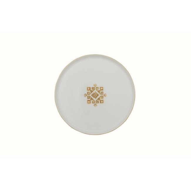 بورلاند أرابيسك Desen1 طبق مسطح 21 سنتيمتر تصميم عصري أنيق سوفرلار خدمة تقديم الطعام طبق