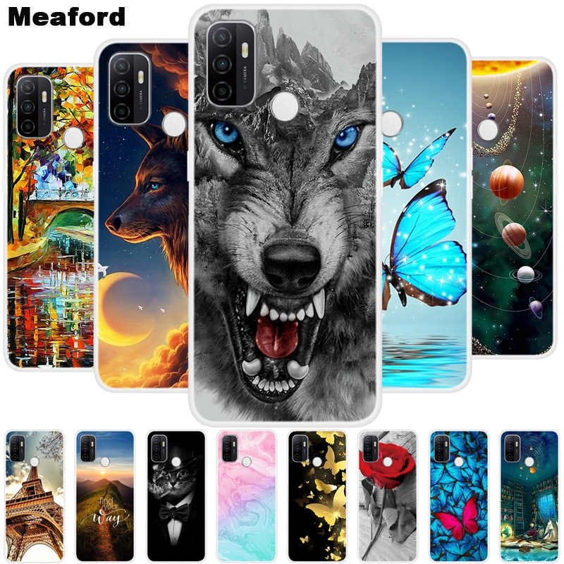 For OPPO A53 2020 Case 15Pro Soft Silicone Back Case for OPPO A53S 2020 Cover Coque for Oppo A53 a 5