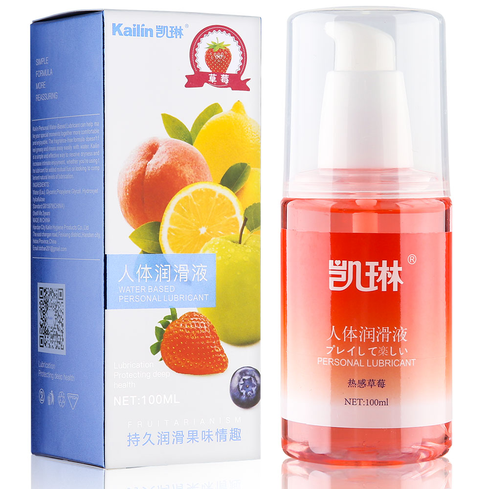 100ML Anal Lubricant for sex grease gel Vagina channel lubrication Water based lube oil sexual Silk