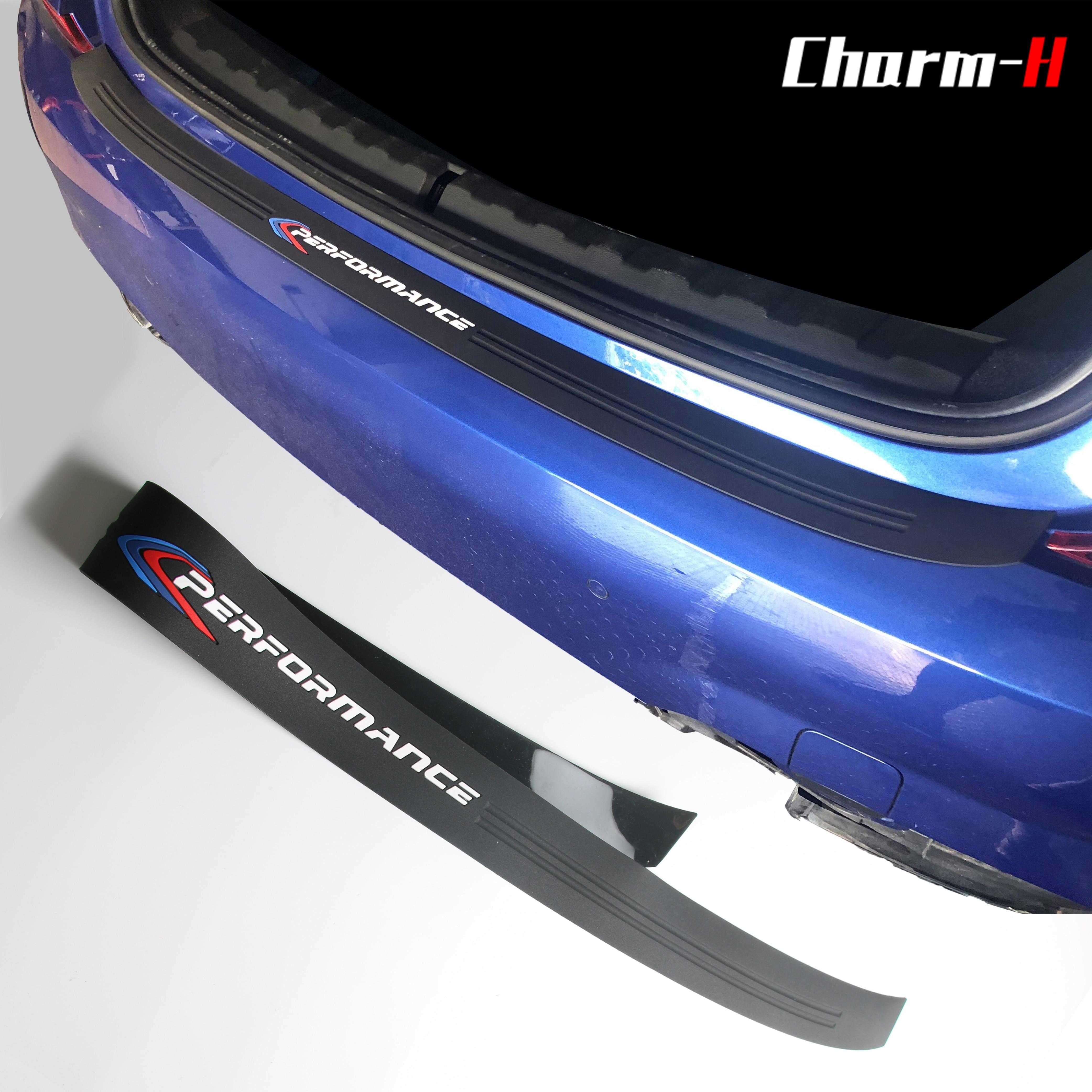 Защитная накладка на багажник автомобиля, защитная накладка на багажник, мягкая резина, защита от царапин, наклейка для BMW, 3 серии, аксессуар...
