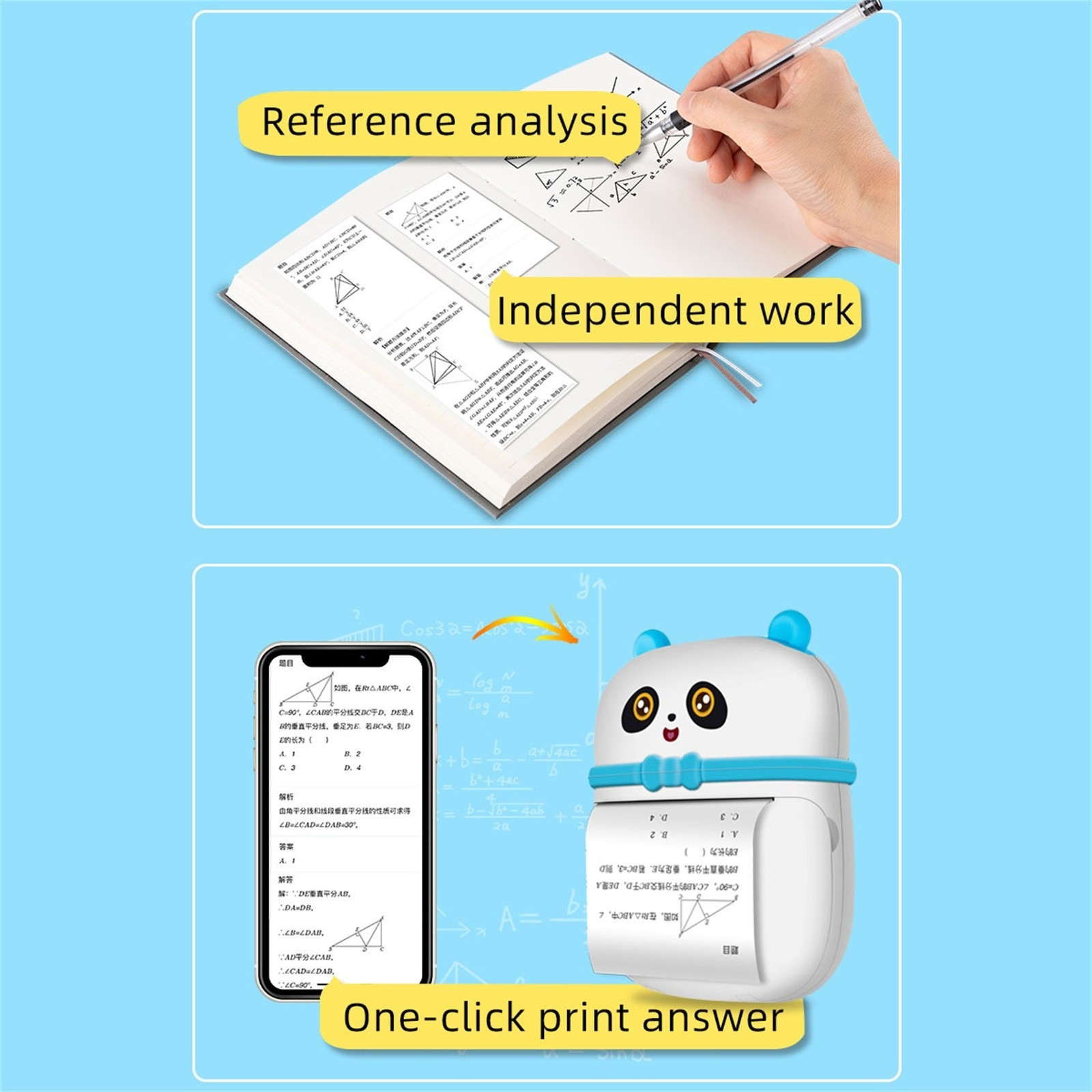 Portable Mini Bluetooth Thermal Printer Wirelessly Printer photo label printer Mobile Phone Control dropshipping Wholesale
