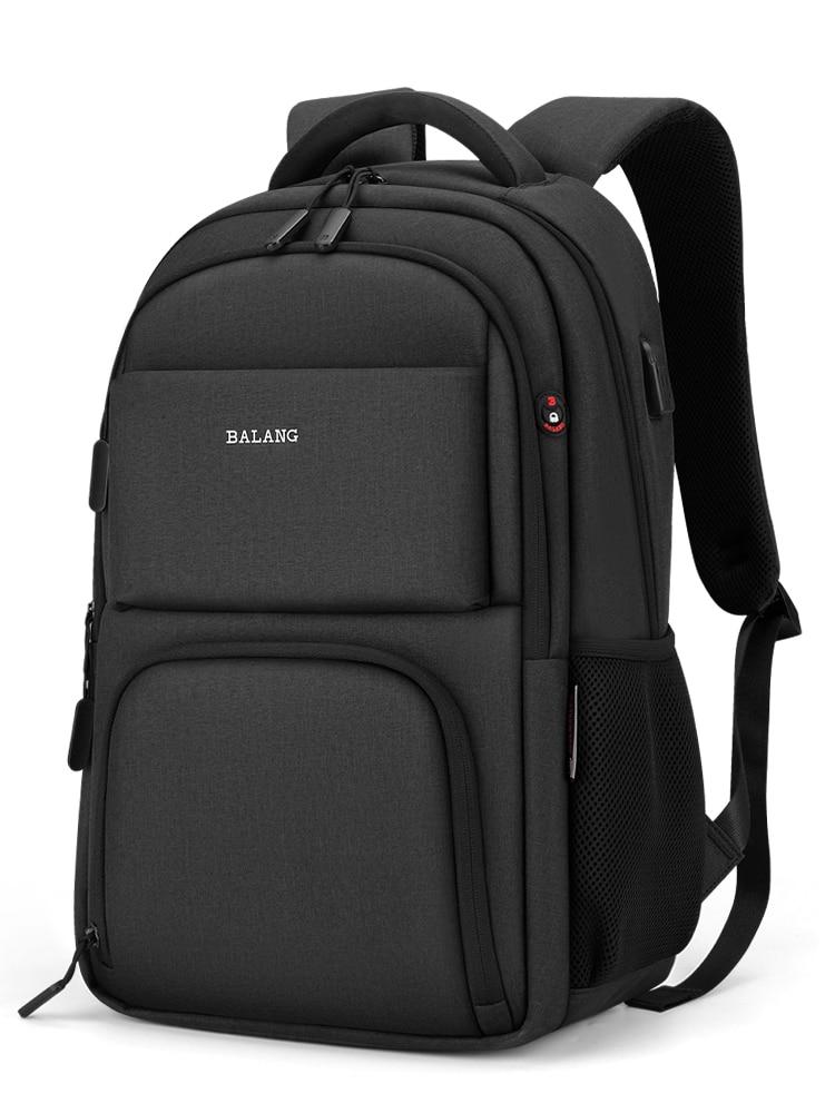 Рюкзак мужской для компьютера, Удобная дорожная сумка для учеников Старшей и старшей школы, модный ранец для студентов колледжа