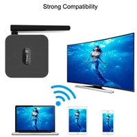 Адаптер Wi-Fi, совместимый с HDMI, 4K, подходит для IPhone 8, 12, HUAWEI, Xiaomi, IOS, Android