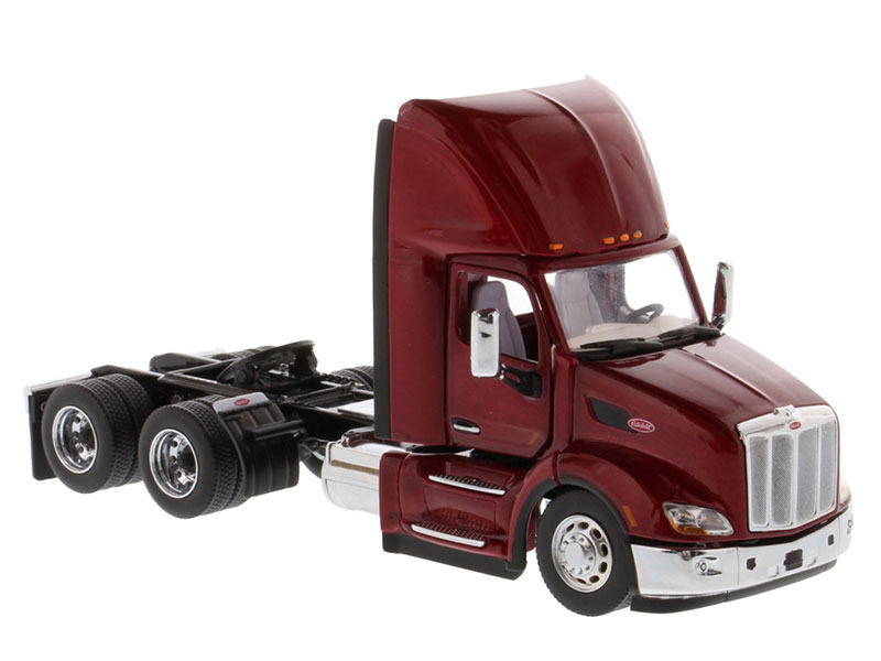 2021 New 1/50 Peterbilt 579 Day Cab Tractor in Legendary Red Cab Only 71068 Diecast model for collction